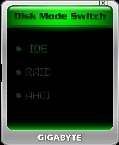 New Gigabyte Tool Switches SATA Mode In Windows