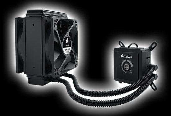 Corsair's H80 High Performance Liquid Cooler is a smaller H100