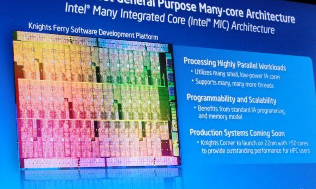 IDF 2011: Intel Many Integrated Core (MIC) Knights Corner