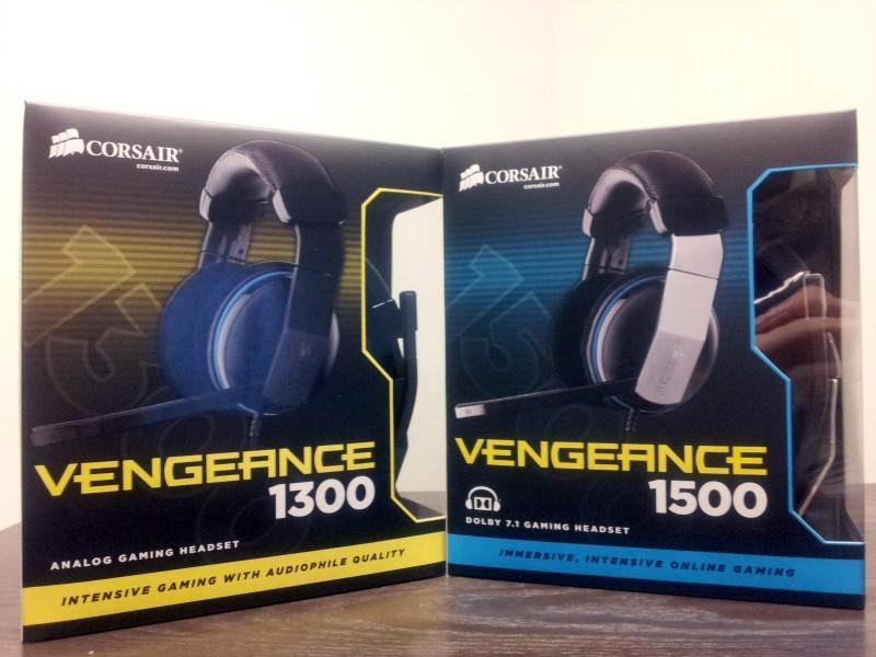 Just Delivered: Corsair Vengeance Gaming Headsets