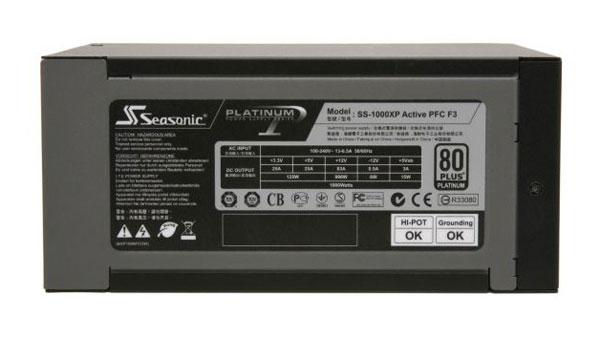 Seasonic Platinum 80 Plus 1000W Power Supply Review