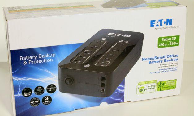 Just Delivered: Eaton 3S 750VA / 450 watt Battery Backup UPS