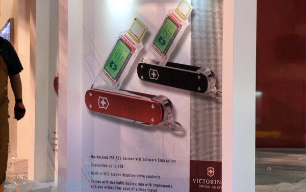 Victorinox Launches 1TB USB / eSATA II Pocket Knife Flash Drive