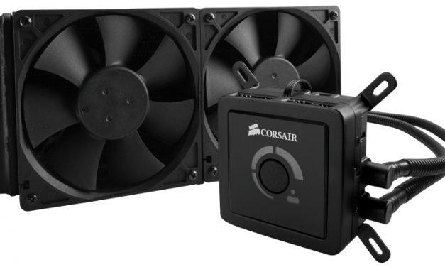 Corsair Hydro Series H100 Liquid CPU Cooler Review