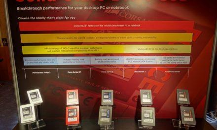 CES Storage Roundup Part 2 – Corsair, Patriot