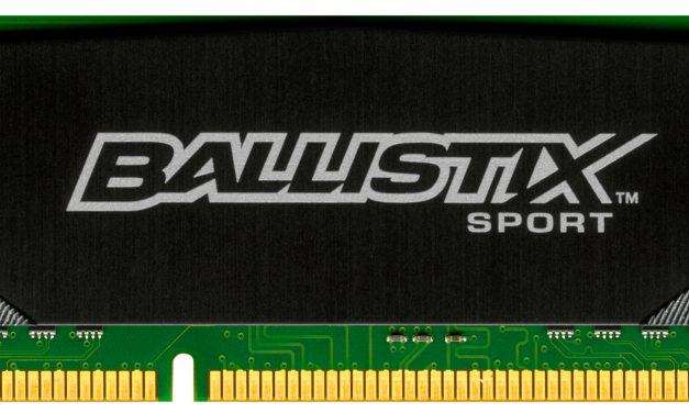 Crucial Launches Three New Ballistix DDR3 Module Series