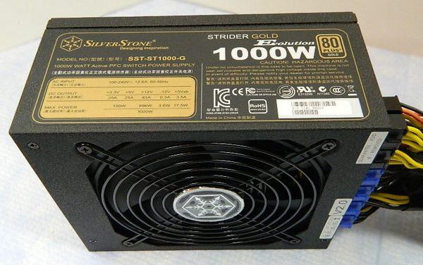 SilverStone Strider Gold Evolution 1000W Power Supply Review
