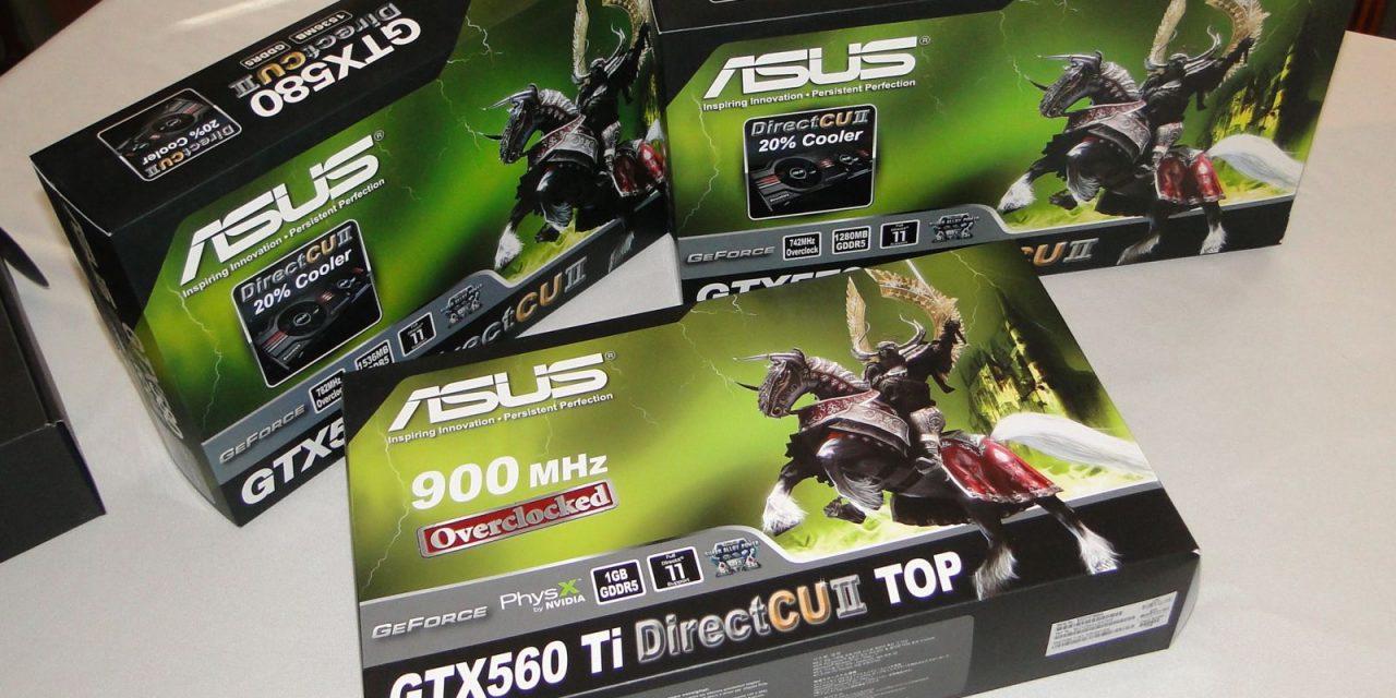 Asus DirectCU II Roundup: ENGTX560, ENGTX570, and ENGTX580 Review