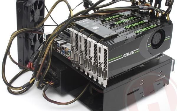 GTX 680 insanity!  SLI, Triple SLI, and Quad SLI