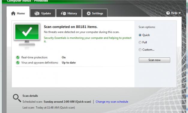 Microsoft Security Essentials Gaining Popularity