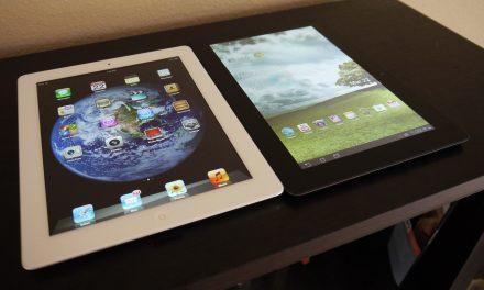 iPad 3 (2012) vs. Transformer Prime: Tablet Titan Showdown