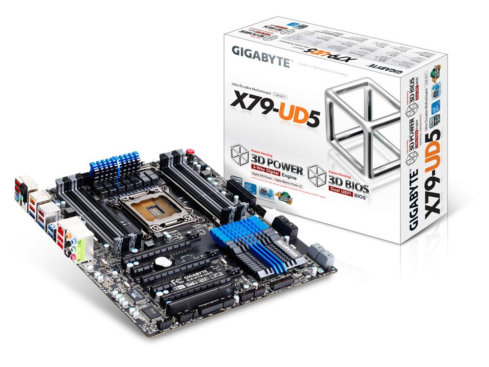 Gigabyte GA-X79-UD5 LGA 2011 EATX Motherboard Review