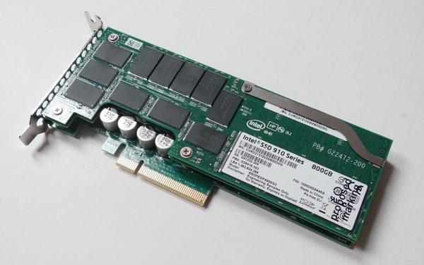 Intel SSD 910 Series 800GB PCIe SSD First Look