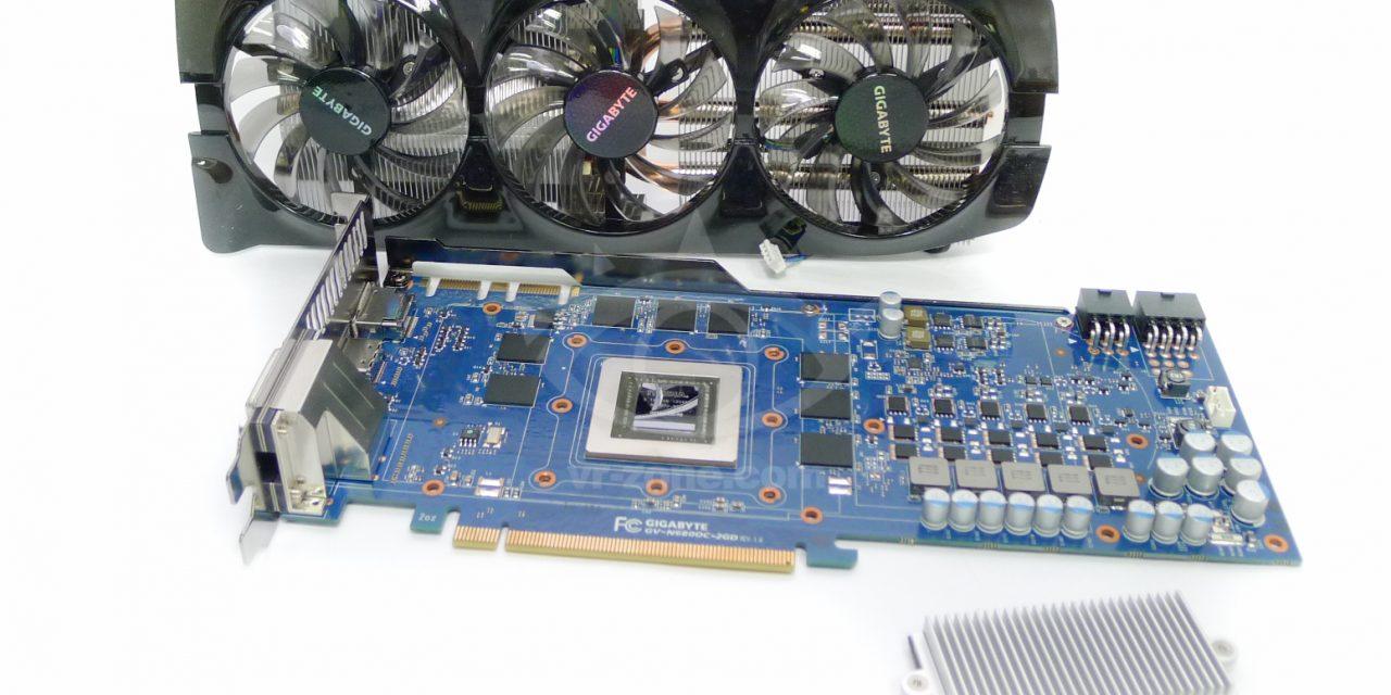 Overclocked Gigabyte WindForce GTX 680 GPU Pictured