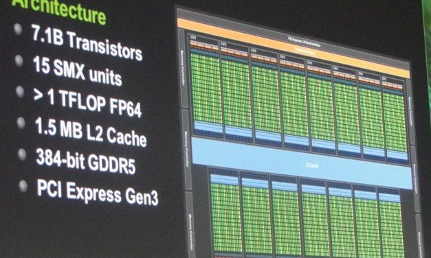 Live: First NVIDIA Kepler GK110 GPU Details