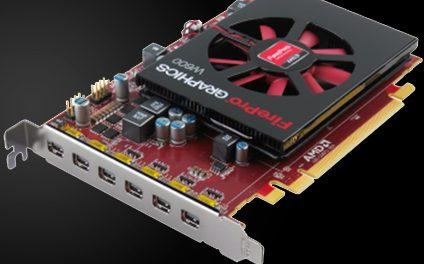 AMD Launches New FirePro W600: 6 mini-DisplayPorts, 1 slot