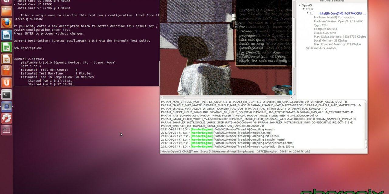 More Ivy Bridge on Linux experiments