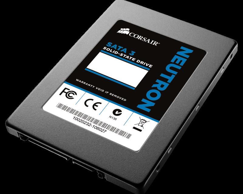 Corsair Announces 'Neutron' SSD Series Driven by LAMD Controller
