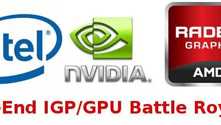 Low-End Laptop Graphics Solution Comparison: Five Options Go Head-To-Head