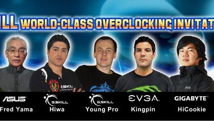 G.Skill To Host Overclocking Invitational at Computex 2012
