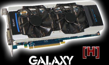 Galaxy's GTX 670 GC can compete with a stock GTX 680