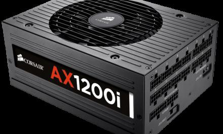 Corsair announces AX1200i DSP-based fully modular power supply
