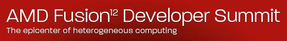 Live Blog: AMD Fusion Developer Summit 2012 (AFDS)