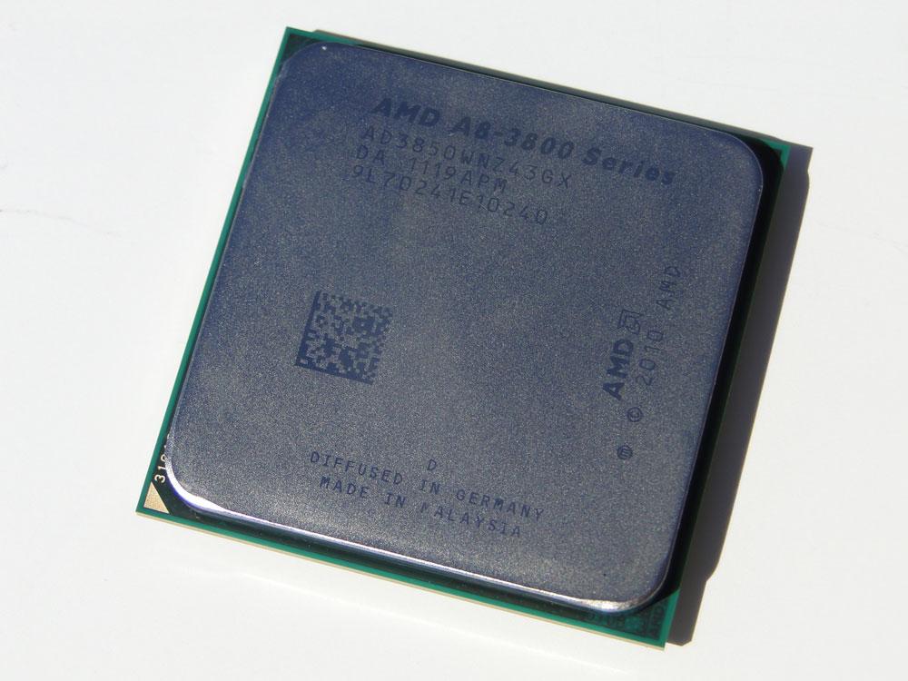 AMD Blames Lackluster Earnings on Weak Economy - Processors  1