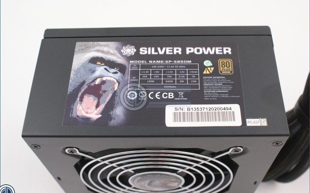 Silver Power's 850W Gorilla