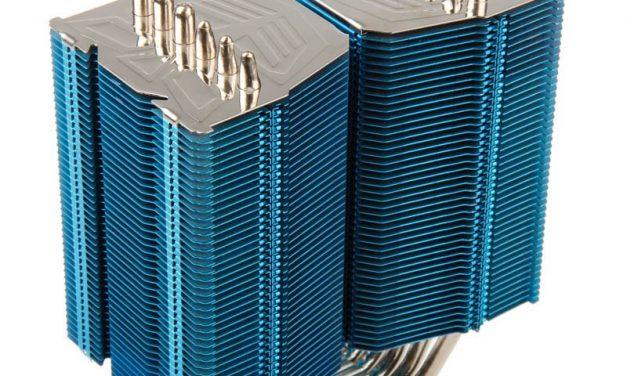 Prolimatech Shows Off Blue Megahalems CPU Cooler