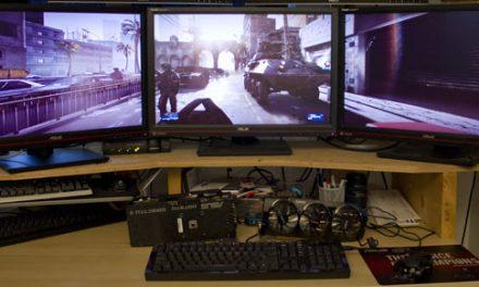 Revisiting single GPU and triple monitor gaming