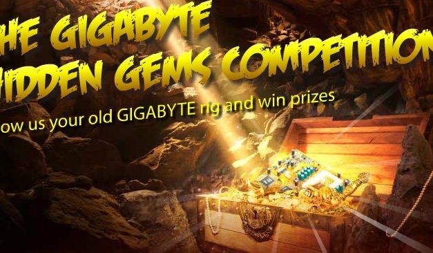 Gigabyte Running Hidden Gems Competition, Win Hardware