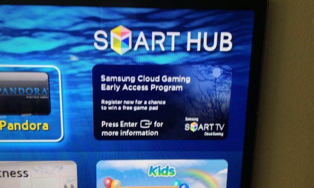 Gaikai Beta Available Now On Samsung Smart TVs