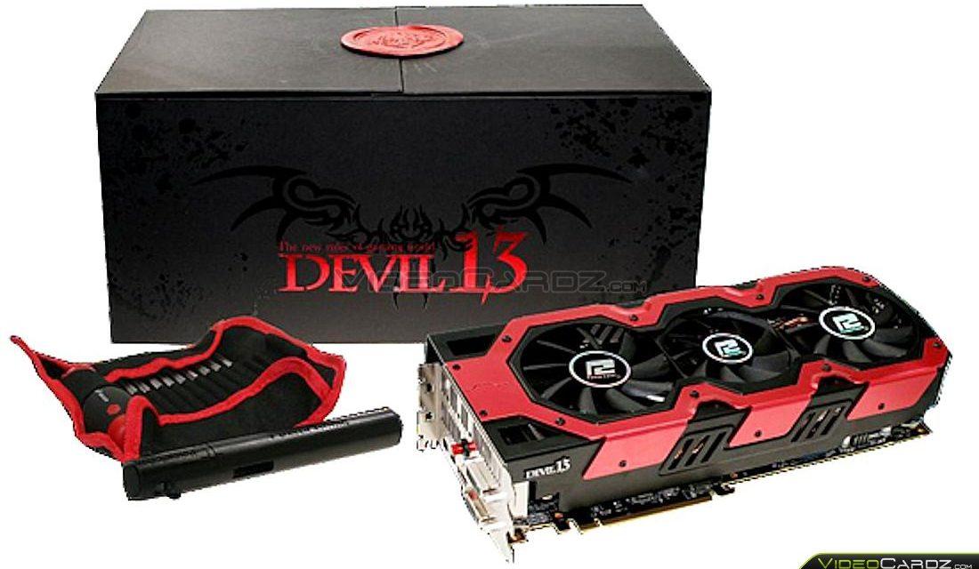 PowerColor HD 7990 Devil 13 Dual GPU Graphics Card Pictured