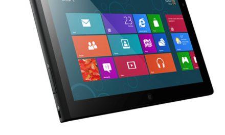 Lenovo Planning Windows 8 Pro and Windows 8 RT Tablets