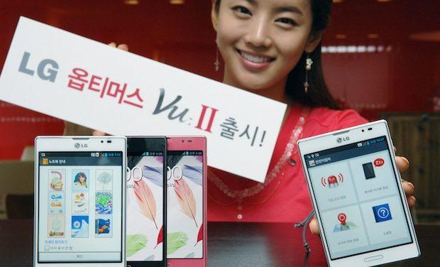 LG Unveils Optimus Vu II Smartphone