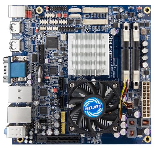 Via Debuts EPIA-M920 Mini-ITX Motherboard - Motherboards  1