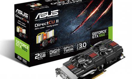 ASUS Launches the GeForce GTX 660 DirectCU II Lineup