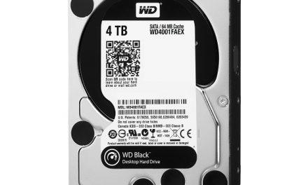 Western Digital releases 4TB Black series HDD