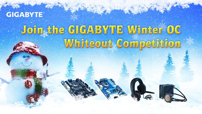 Gigabyte Hosting Winter OC Whiteout Contest
