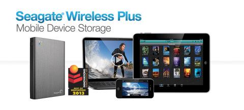 CES 2013: Seagate Wireless Plus – All the Mobiles!