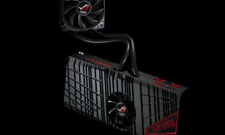 ASUS Shows Off ROG ARES II GPU With Sealed Loop Water Cooler