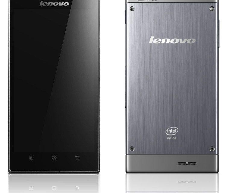 CES 2013: Lenovo Shows Off Clover Trail+ Powered K900 Smartphone