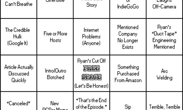 Introducing PC Perspective Podcast Bingo!