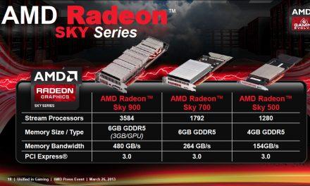 GDC 2013: AMD Reveals Radeon Sky Specifications