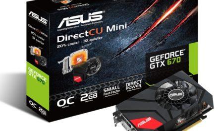 ASUS Finalizes Mini-ITX System Friendly GTX 670 DirectCU Mini Graphics Card