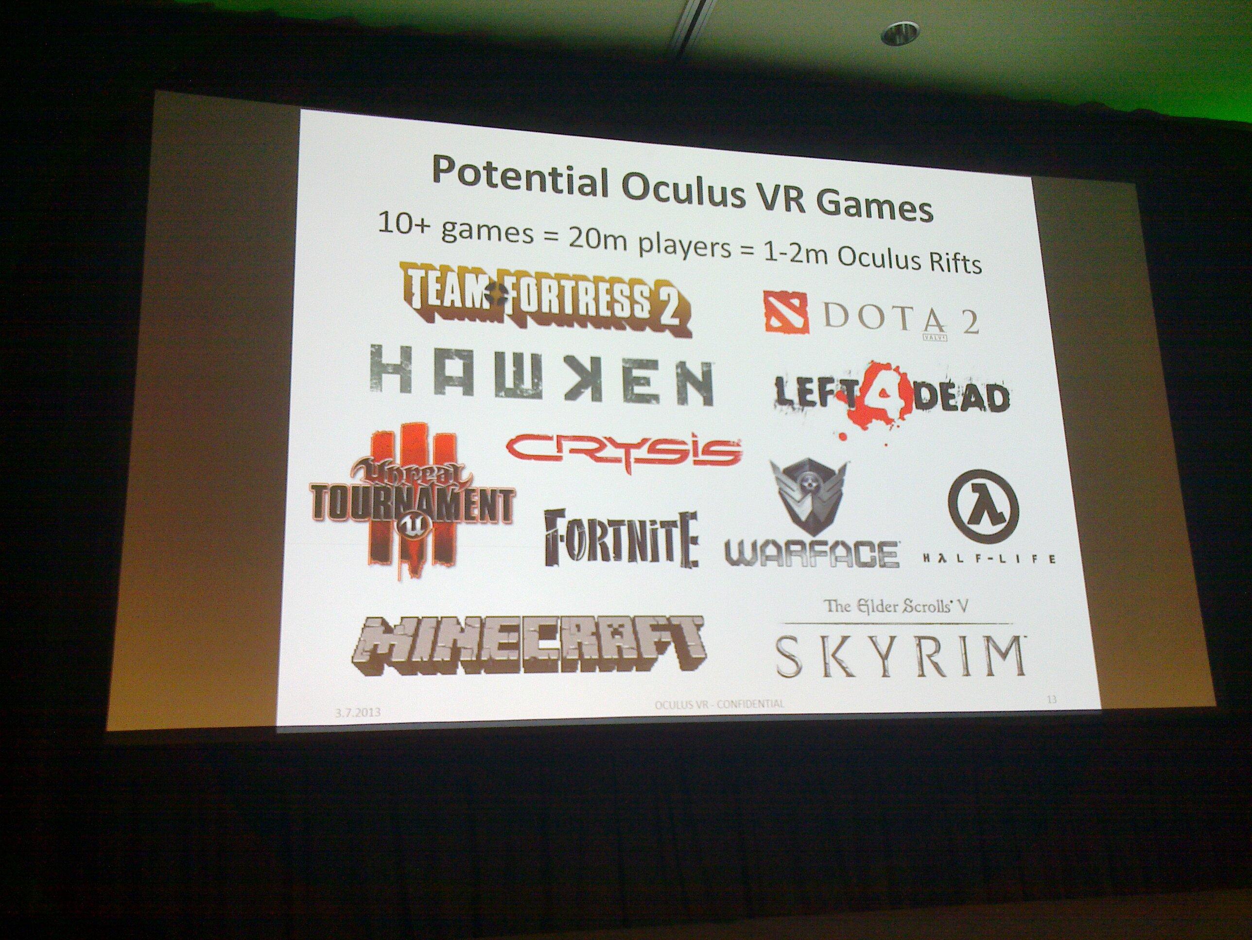 GTC 2013: Oculus VR Reveals Future of Oculus Rift at ECS - General Tech 3