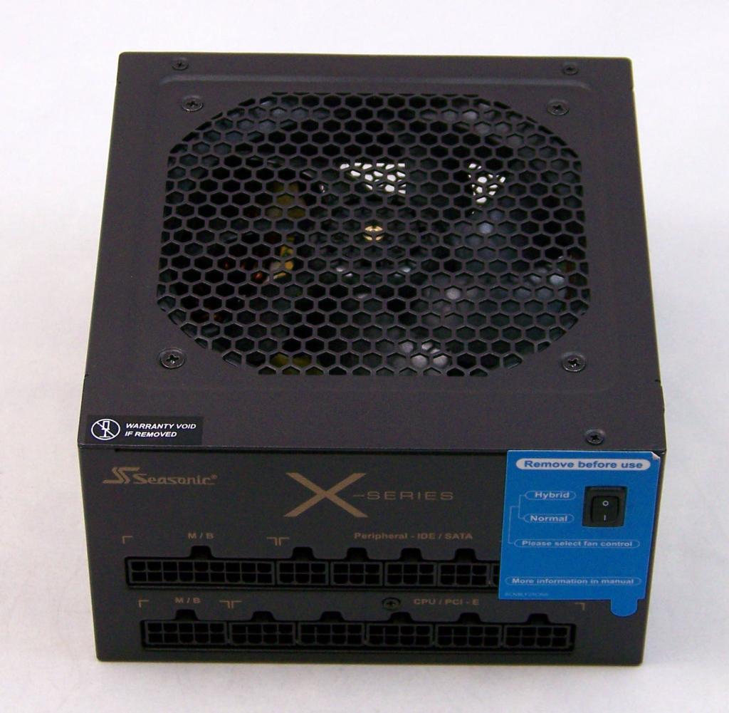 The upper echelon of the Seasonic X-Series, 850W of solid power