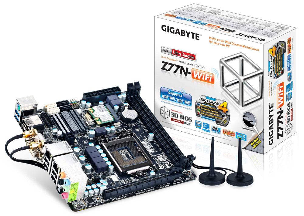 GIGABYTE Z77N-WiFi Mini-ITX Motherboard Review
