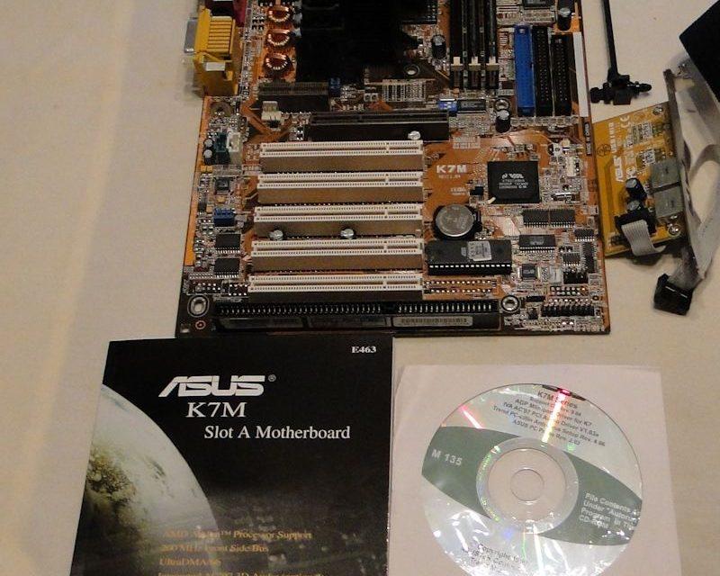 Hardware Flashback: Asus K7M